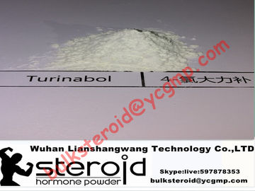 ประเทศจีน Oral Turinabol Steroid Powder 4-Chlorodehydromethyltestosterone for Muscle Building ผู้ผลิต